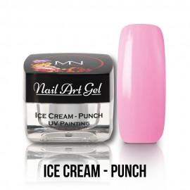 UV Painting Nail Art Gel - Ice Cream - Punch - 4g