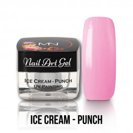 UV Painting Nail Art Gel - Ice Cream - Punch - 4g
