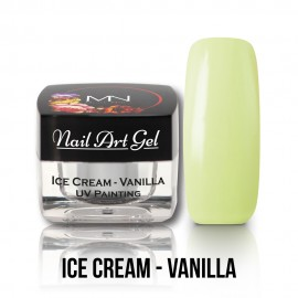 UV Painting Nail Art Gel - Ice Cream - Vanilla - 4g