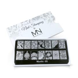 Nail stamping plate - 05.
