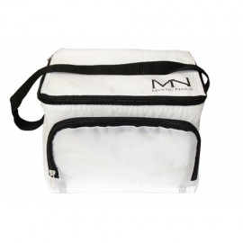 Cooler bag with MN logo - white