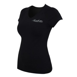 MN Glamour Black T-shirt - L