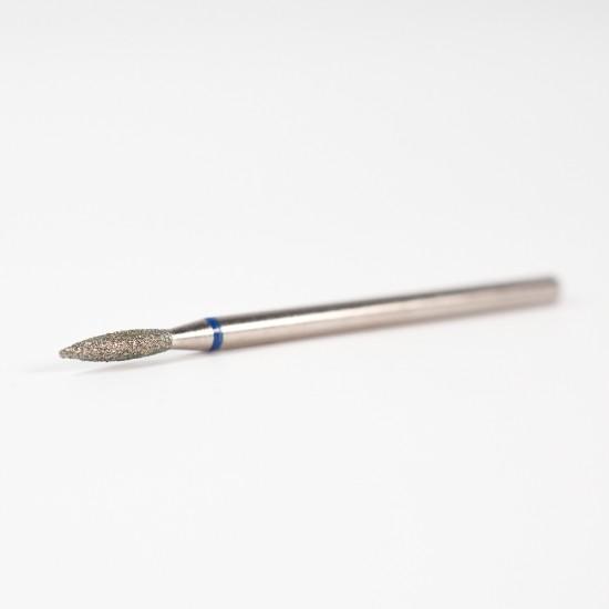 Nail drill bit - diamond - peak flame (medium coarse)