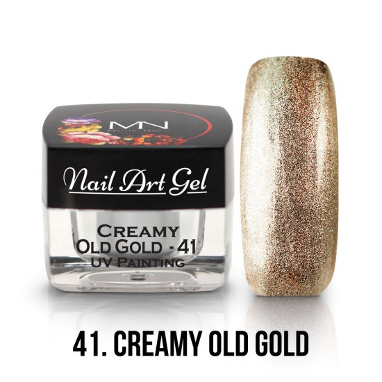 UV Painting Nail Art Gel - 41 - Creamy Old Gold - 4g